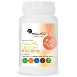 Kwas Alfa Liponowy R-ALA 200 mg 60 tabletek