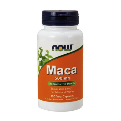 MACA 500 MG 100 KAPS. (NOW FOODS)