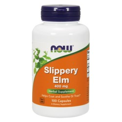 Slippery ELM 400mg 100 CAPS NOW FOODS
