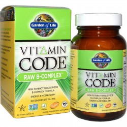 Vitamin Code RAW B-Complex Garden of Life