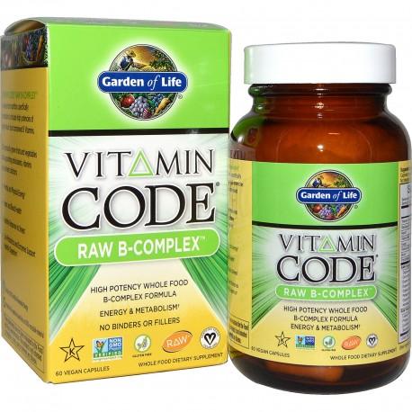 Vitamin Code RAW B-Complex Garden of Life