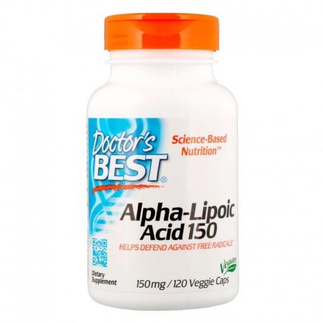 ALA - Kwas Alfa Liponowy 150 mg (120 kaps.) Doctor's Best