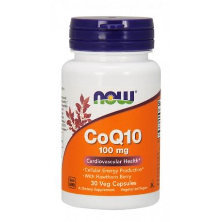 CoQ10 Koenzym Q10 + Głóg 100mg 30 kaps