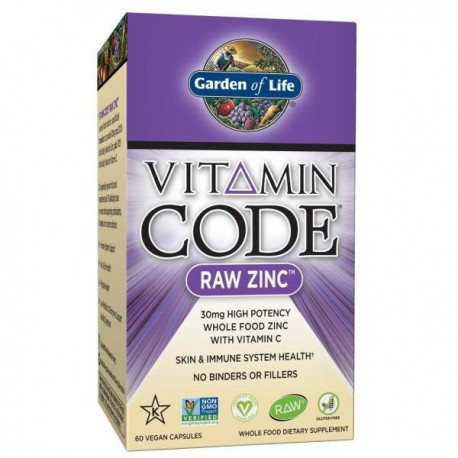 Cynk GARDEN OF LIFE VITAMIN CODE RAW ZINC