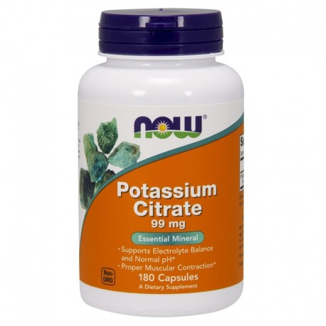 Potassium citrate 99 mg - 180 kaps