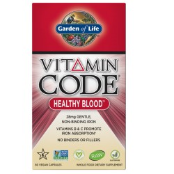 Vitamin Code Healthy Blood Garden of Life