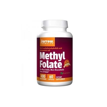 Methyl Folate 400mcg, Aktywny kwas foliowy Jarrow