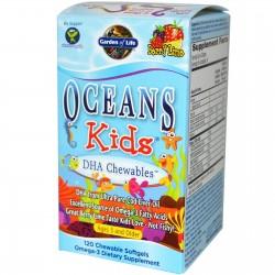 Omega 3 Oceans kids dha